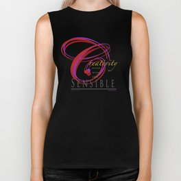 Art never has, and never will, be sensible. Biker Tank