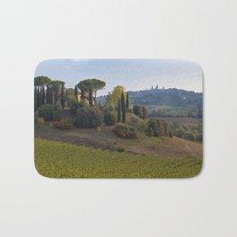 Vineyard and Farm, San Gimignano Bath Mat
