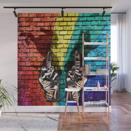EFF cats rainbows and unicorns Wall Mural