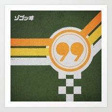 Cafe Racer (2 of 4) Art Print