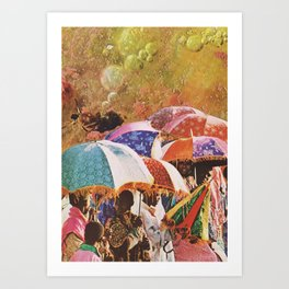 UNTITLED / DOPAMINE Art Print