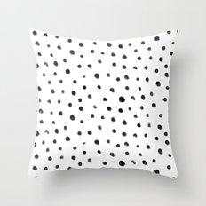 Fingerdots Throw Pillow