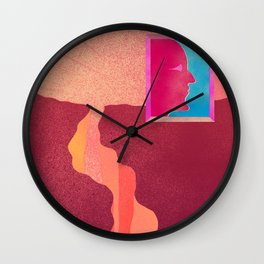 THE NEW YOU Wall Clock