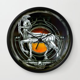 """Astrological Mechanism - Sagittarius"" Wall Clock"