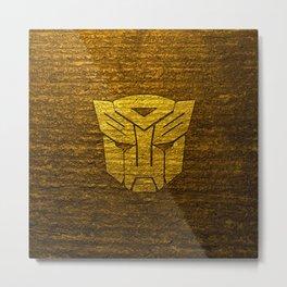 Autobot logo Metal Print