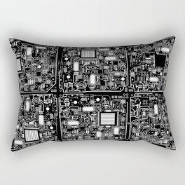 Serious Circuitry Rectangular Pillow