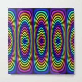 o rainbow Metal Print