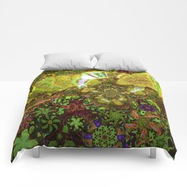 Mushroom Realms Comforters