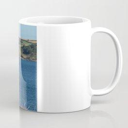 Blue Schooner 02 Coffee Mug