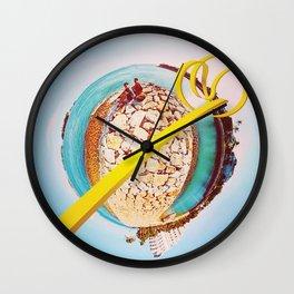 Lemon Slide Wall Clock