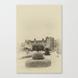 Hever Castle Yellow Plate 2 Canvas Print
