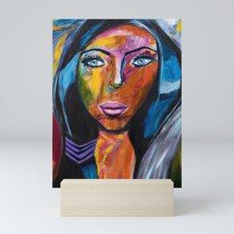 Powerful Woman Mini Art Print