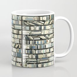 Bookshelf Art Fantasy Coffee Mug