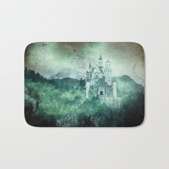 The dark fairytale - Bavarian Fairytale Castle Bath Mat