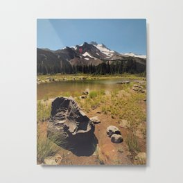 Mt Jefferson Metal Print