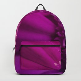 Fine Art Lavender and Magenta Flower Photography, Nature Backpack