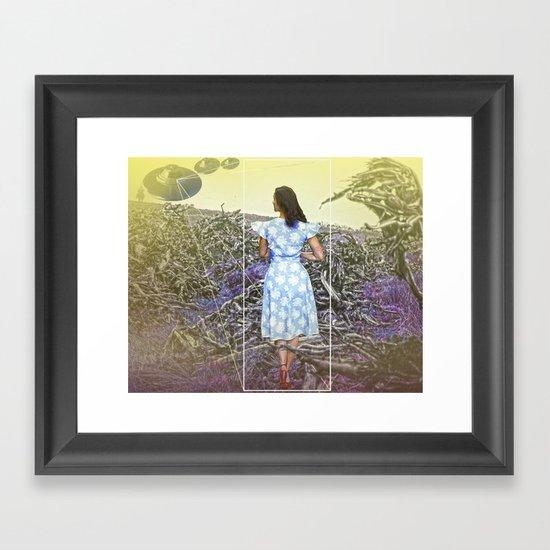 Cowboys,Ladies & Aliens Framed Art Print
