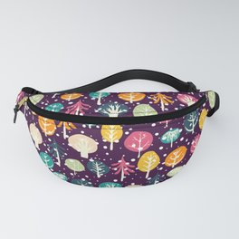 Night Forest Fanny Pack