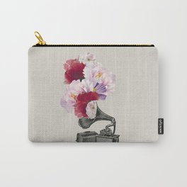 Flower gramophone Carry-All Pouch