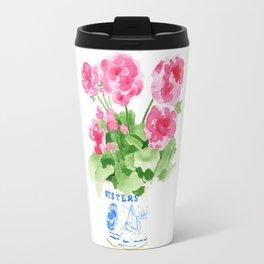 Potted Geranium no. 2 Travel Mug
