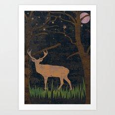 Glory of the Night Art Print