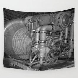 F-1 Engine for the Saturn V S-IC Wall Tapestry