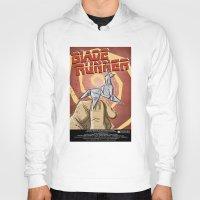 blade runner Hoodies featuring Blade Runner   by Joe Badon