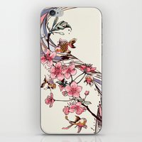 blossom iPhone & iPod Skins featuring Blossom by Huebucket