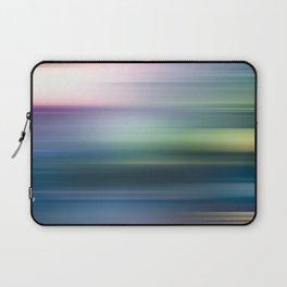 Blue Motion Laptop Sleeve