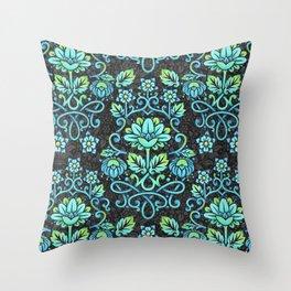 Nouveau Damask Throw Pillow