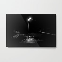 Atitlán nocturno. Metal Print