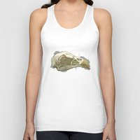 animal skull Tank Tops featuring animal skull by jenni leaver