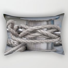 Tied & Secured  Rectangular Pillow