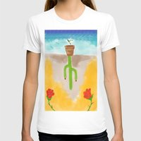 desert T-shirts featuring Desert by Guacamole Design