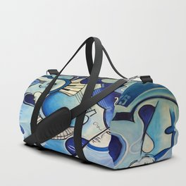 Reves Bleus (blue dreams) Duffle Bag