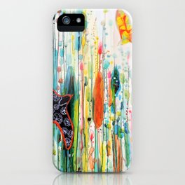 where ever you are iPhone Case