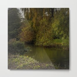 Quiet River Metal Print