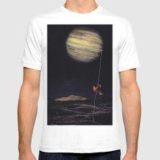 Jupiter Climber Mens Fitted Tee White MEDIUM