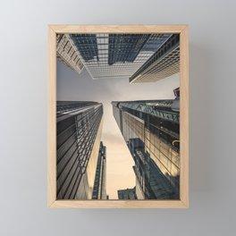 Hongkong Financial District Framed Mini Art Print