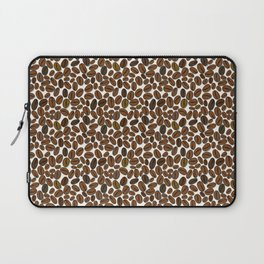 Coffee beans pattern Laptop Sleeve