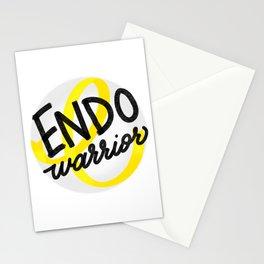 ENDO Warrior - Endometriosis Awareness Art - Advocate Stationery Cards