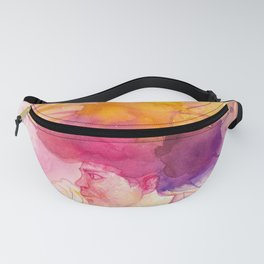 The Afro Man Fanny Pack