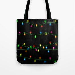 Christmas lights collection Tote Bag