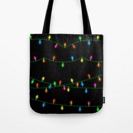 Christmas lights collection Tote Bag