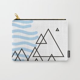 Ocean Mountains Island Carry-All Pouch