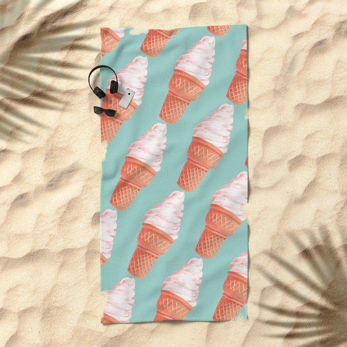 Happy Beach Towel
