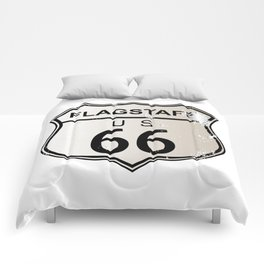 Flagstaff Route 66 Comforters