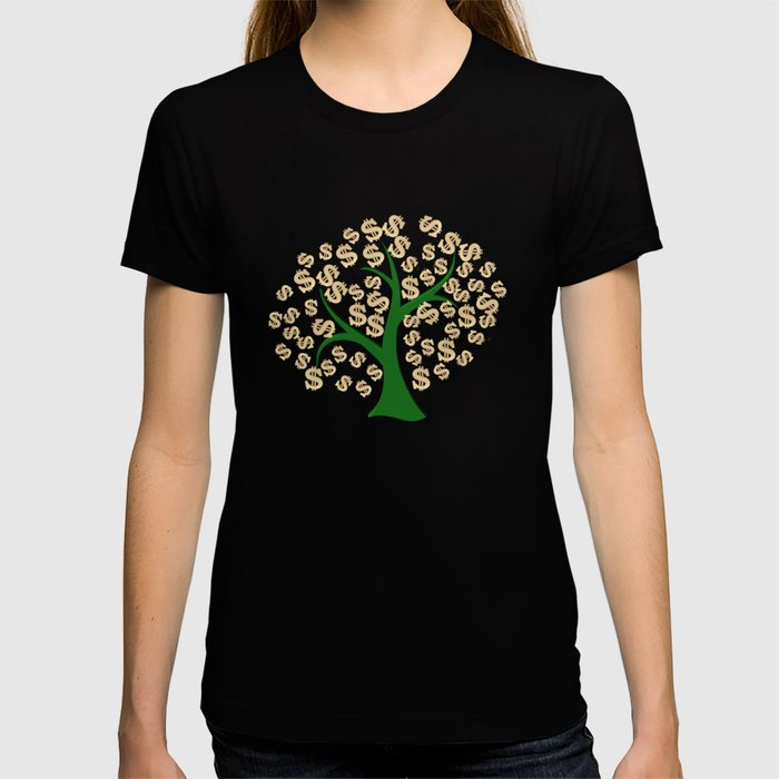 Golden dollars tree T-shirt