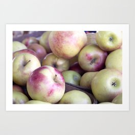 Apples To Apples Art Print