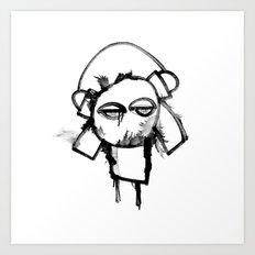 ID ESCAPED Art Print